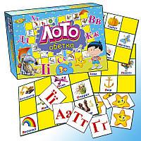 """Игра """"Лото. Абетка"""" MKM0305, детское лото,лото,детская настольная игра,детское домино"""