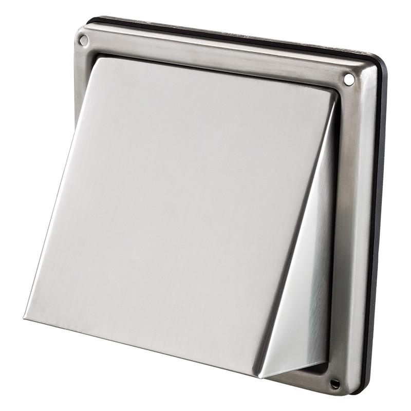 Вентс МВМ 102 В Н. Наружный колпак из нержавеющей стали.