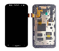 Дисплей Motorola XT1092 Moto X (2nd Gen)/XT1093/XT1094/XT1095 with touchscreen and frame black