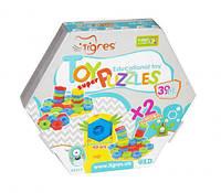 """Развивающая игрушка """"Игро пазлы SUPER"""", 39 эл, Wader, Мозаика для самых маленьких,Игра мозаика для детей"""