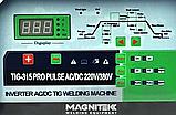 Magnitek Pulse TIG-315 PRO AC/DC аргоновая сварка, фото 2