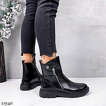 Натуральные кожаные ботинки женские 11540 (ЯМ), фото 3