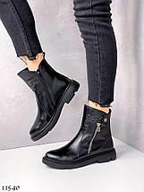 Натуральные кожаные ботинки женские 11540 (ЯМ), фото 2