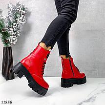 Красивые кожаные ботинки 11555 (ЯМ), фото 2