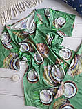 """П21029 Жіноча піжамка """"Кокоси"""" різні кольори, фото 8"""