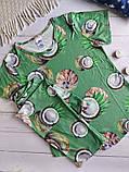 """П21029 Жіноча піжамка """"Кокоси"""" різні кольори, фото 10"""