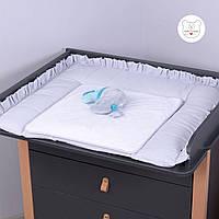 Macaroon Earl grey Baby Veres пеленальный матрас для новорожденных