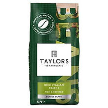 Taylors Rich Italian Coffee Beans, 227 г
