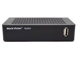 ТВ-ресивер World Vision T62M3 Черный 00067, КОД: 1549935