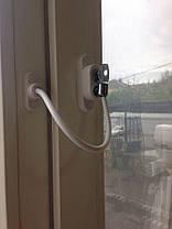 Захист на вікна від дітей, трос обмежувач відкривання, Україна, Пенкид, PENKID 1, фото 2