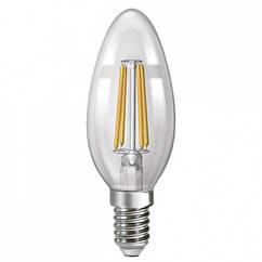 Лампа филаментная Neomax Led NX6CF С 37 6 Вт 4200 К 600 Лм Е 14 ЛСФ00141, КОД: 1218681