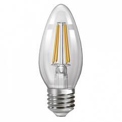 Лампа филаментная диммируемая Ecolux Led EX4CFD 4 Вт С 37 4200 К 400 Лм Е 27, КОД: 1234460