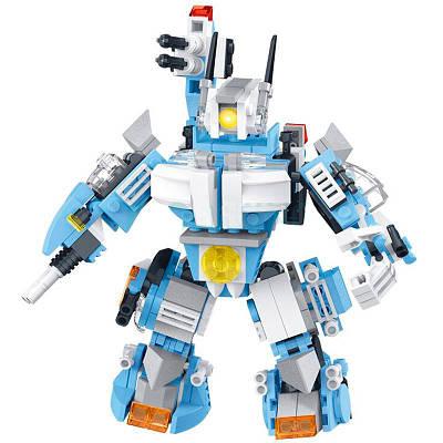 Конструктор Trend-mix Block Set 10 в 1 Бело-синий (tdx0000927)
