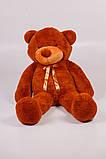 Виликий плюшевий ведмідь. Мяка іграшка ведмідь. Мякий ведмідь 180 см. Тедді коричневий, фото 2