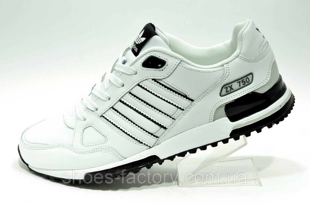 Кроссовки мужские Adidas ZX 750 Белые