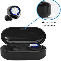 Бездротові навушники Wi-pods TW60 Pro навушники-блютуз гарнітура. Чорні