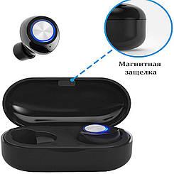 Беспроводные наушники Wi-pods TW60 Pro наушники-блютуз гарнитура. Черные