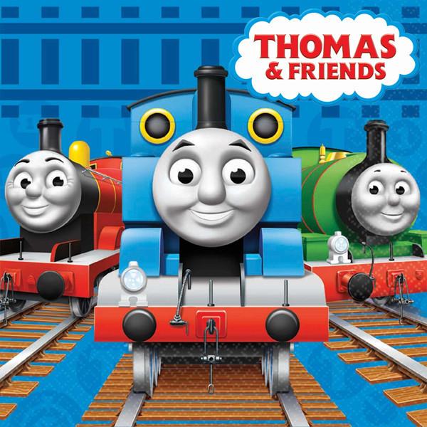 """""""Паравозик Томас"""" - Наклейка Сок 6,5*8,5 см."""