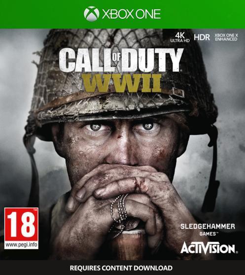 Игра для игровой консоли Xbox One, Call of Duty: WWII (БУ)