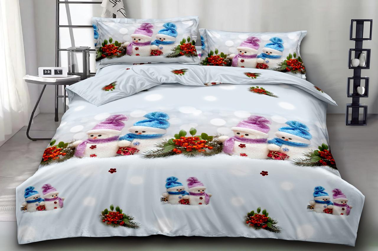Двуспальный комплект постельного белья евро 200*220 хлопок  (15871) TM KRISPOL Украина