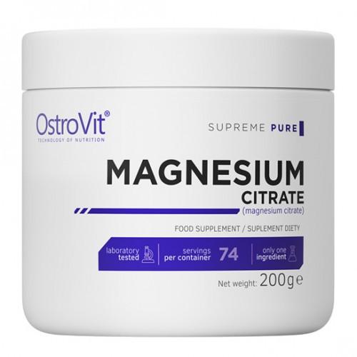 Магній Ostrovit Magnesium Citrate 200g