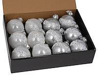 Елочные новогодние шары , набор 12 шт*8см, фото 1