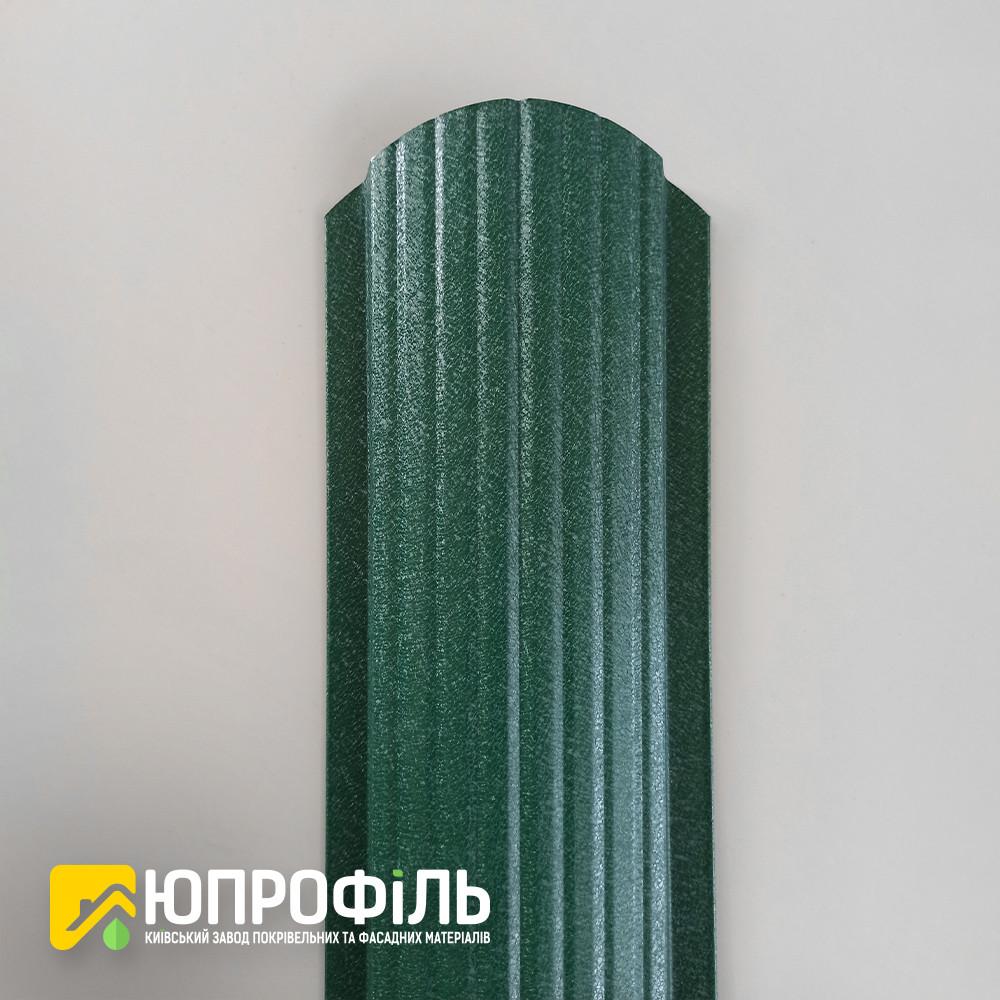 ✅ Штакетник металлический Зелёный RAL 6005 Матовый односторонний