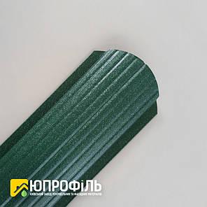 ✅ Штакетник металлический Зелёный RAL 6005 Матовый односторонний, фото 2