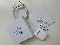Наушники Apple AirPods 2 Wireless Charging Bleutooth Гарнитура Беcпроводные навушники аирподс