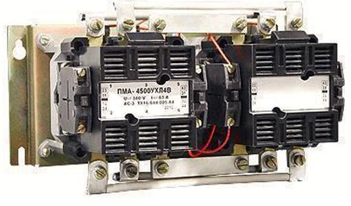 Пускатель ПМА-4500 кат.110В, 127В, 220В, 380В