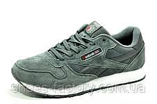 Reebok Classic Leather мужские кроссовки серые, фото 3