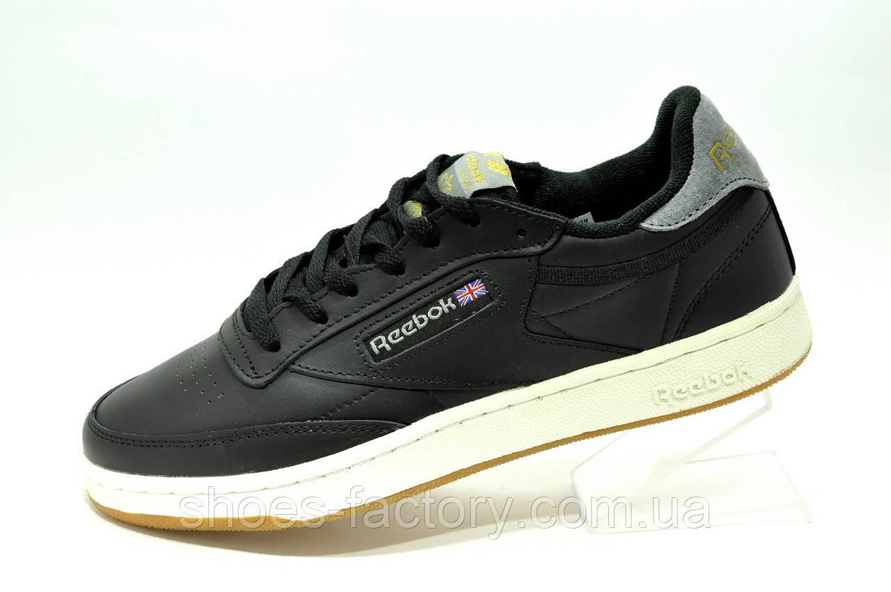 Reebok Club C 85 Leather мужские кожаные кроссовки