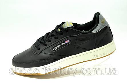 Reebok Club C 85 Leather мужские кожаные кроссовки, фото 2