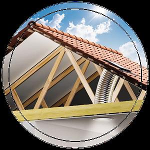 Дизайнерские окна в крышу - особенности установки