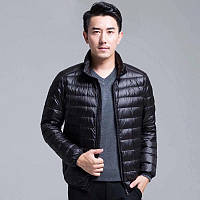 Чоловіча демісезонна куртка-пуховик. Модель 723-н, фото 2