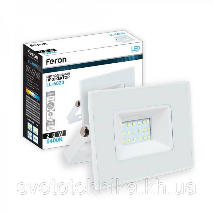 Светодиодный прожектор Feron LL-6020 20W IP65