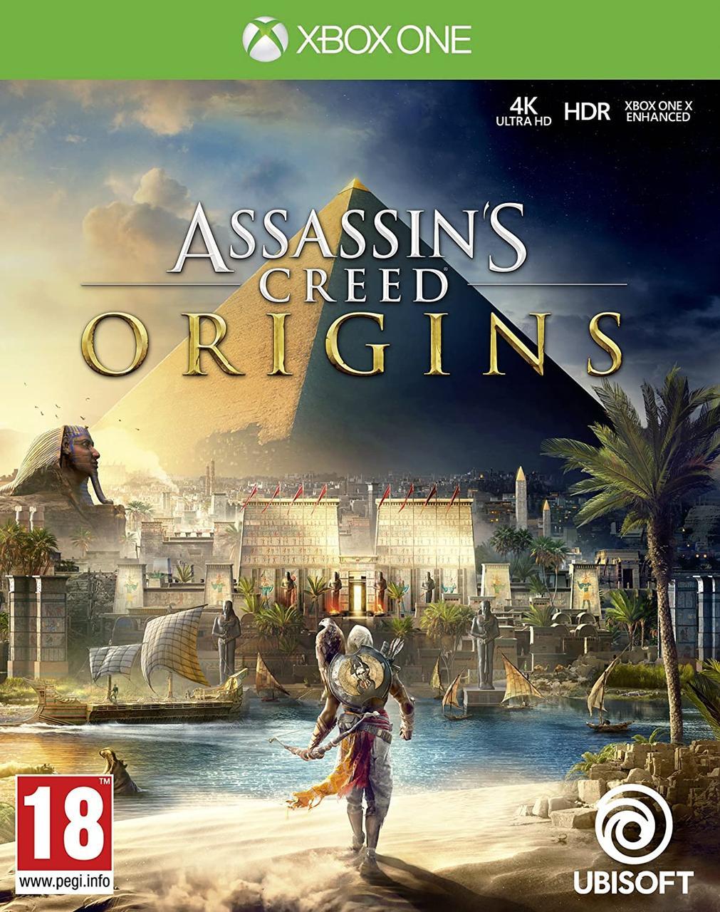 Игра для игровой консоли Xbox One, Assassin's Creed: Origins (БУ)