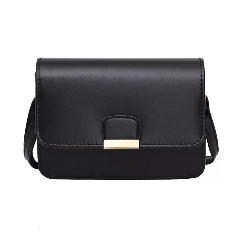 Женская классическая сумка на ремешке через плечо 031/11 черная
