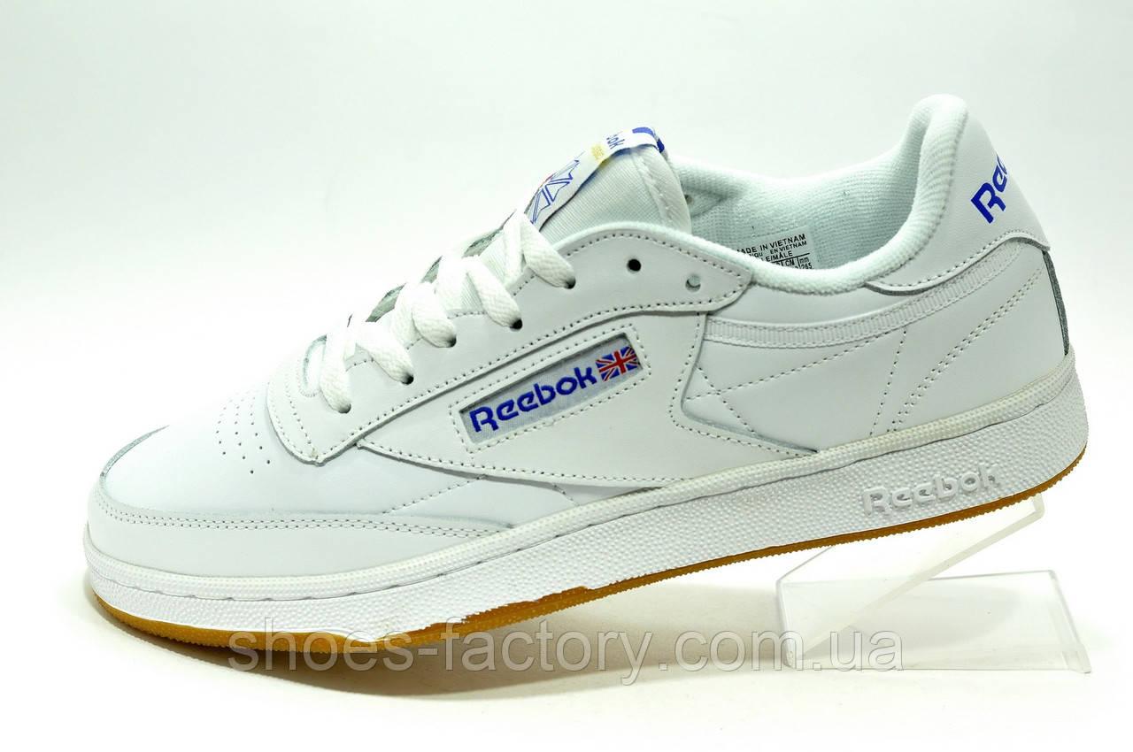 Reebok Club C 85 Белые мужские кроссовки