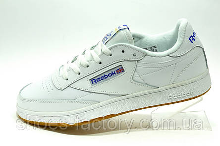 Reebok Club C 85 Белые мужские кроссовки, фото 2