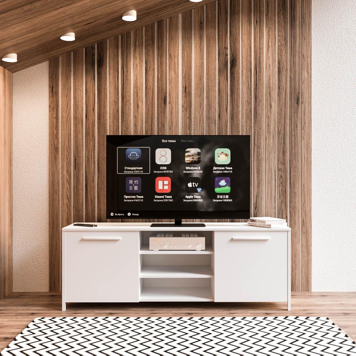 Тумба под телевизор UNTV 05W 60×155×36,5