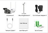 Камера видеонаблюдения беспроводная уличная IP с WiFi/ИК-подсветка/датчик движения  UKC 3020, фото 3