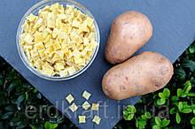 Бланшированный картофель кубиком 3*10 класс В