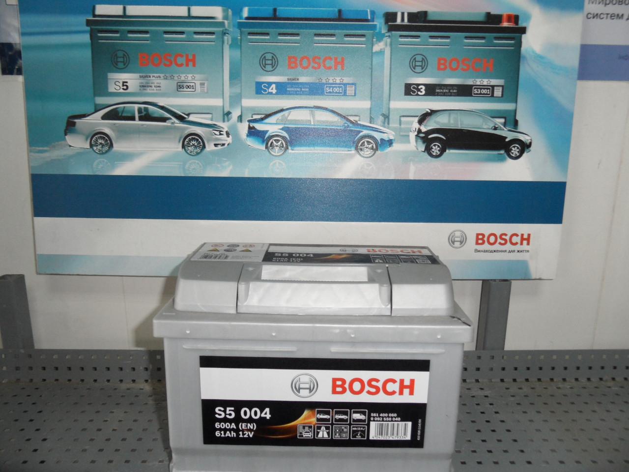 Аккумулятор BOSCH 0092S50040, 61 Ah -/+ S5,