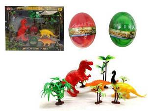 """Ігровий набір """"Парк динозаврів"""" + 2 лизуна в яйці 68619A-2"""
