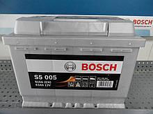 Автомобильный, аккумулятор, BOSCH 0092S50050 S5 63Ah-+.АКБ.