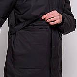 Чоловіча зимова куртка, чорного кольору., фото 3