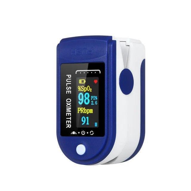 Пульсоксиметр Fingertip Pulse Oximeter |Пульсометр на палець |Оксиметром |Прилад для вимірювання кисню в крові