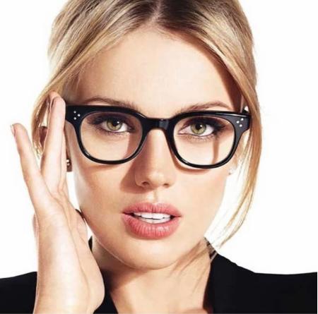 Компьютерные очки, женская оправа для очков Клабмастер 5699-1 черные