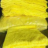 Мікрофібра махрова для кузова MICROFIBRA 40*40 жовта, фото 2